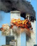 El derrumbe de las Torres Gemelas en NY