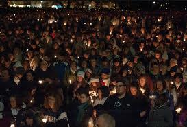 Vigilia en Penn State 2011