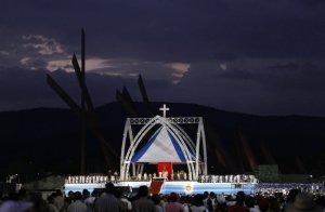 Benedicto XVI en Santiago de Cuba
