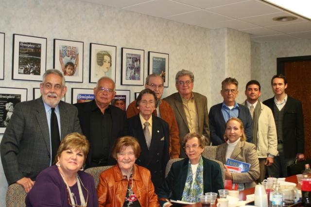 Reunion de la Academia Norteamericana de la Lengua en Miami