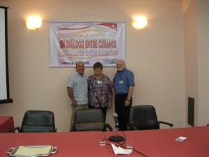 Orlando Márquez, Uva de Aragón y Jorge Duany, La Habana