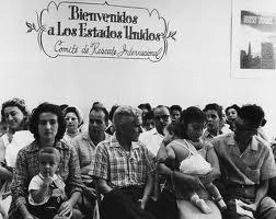 Refugiados cubanos en los años 60