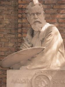 Busto de Sorolla en su museo
