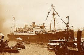 El St. Louis en el puerto de La Habana