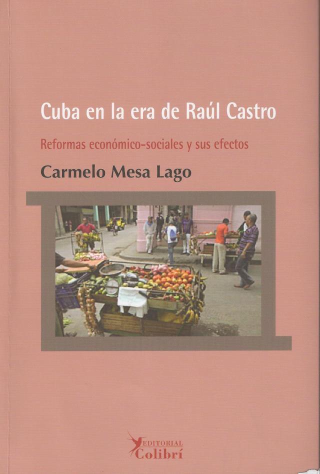 "Portada de ""Cuba en la era de Raúl Castro"" de Carmelo Mesa-Lago"