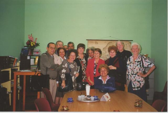 Después de mi conferencia en la Universidad de La Habana en 1999