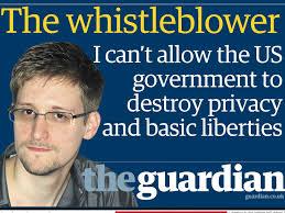 Edward Snowden informó a la prensa sobre el sistema de espionaje de Estados Unidos