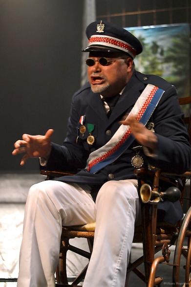 "Cristian Ocón en el papel de ""El Tigre"""