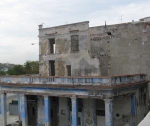 Las ruinas de la ciudad