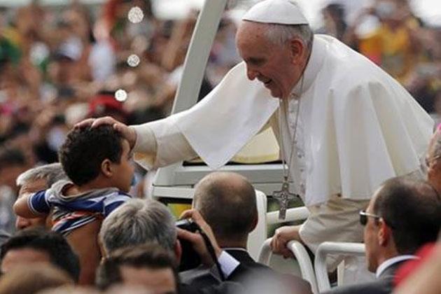 El Papa Francisco quiso sentirse cerca del pueblo en su reciente viaje a Brasil