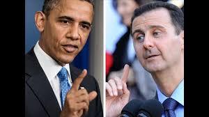 El Presidente Barack Obama y el dictador sirio Bashar al-Assad
