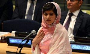 Malala Yousafzai habla en las Naciones Unidas en defensa especialmente de la educación para todos los niños