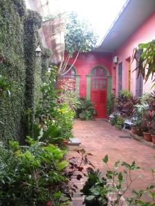Patio interior Casa de Pedro Pablo Oliva
