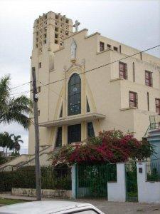 Iglesia de San Agustín en Playa donde Monseñor de Céspedes llevó a cabo su labor pastoral por los últimos 20 años