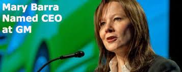 Mary Barra, directora ejecutiva de General Motors