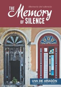 Cubierta de edición de Cubanabooks de The Memory of Silence, basada en un cuadro de Humberto Calzada