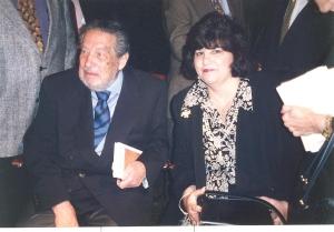 Octavio Paz y Uva de Aragón, Miami, 1987