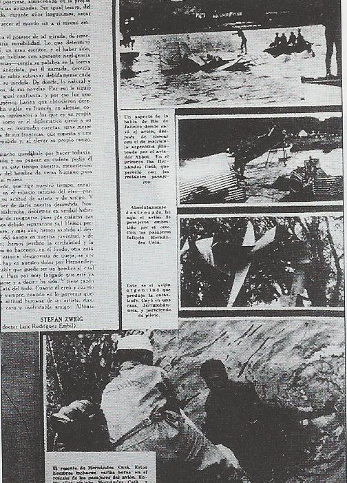 Fotografías de la prensa que muestra la labor de rescate de los cadáveres