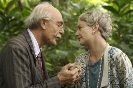 """Florentino Ariza y Fermina Daza, personajes de """"El amor en los tiempos del cólera"""""""