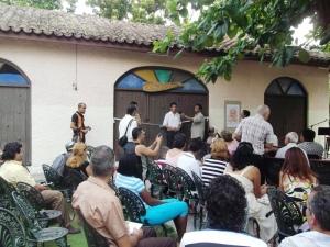 Se reúnen en Banes a leer poemas y celebrar el centenario de Gastón Baquero