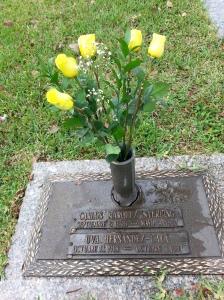 La tumba de mis padres