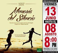 Memoria del silencio se estrenára en el Koubek Center en Miami el 3 de octuvre
