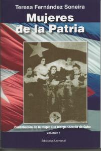 """Portada de """"Mujeres de la Patria"""""""