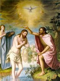 Me oproducia gran curiosidd el bautismo de un hombre adulto y semidesnudo