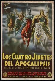 """""""Los cuatro jinetes de la Acopalipsis"""" comenzó a publicarse en forma de folletín en 1916"""