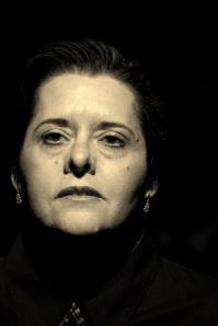 Lucrecia Baldassarre, egresada de la Universidad Andrés Bello (UCAB) de Caracas, 1985