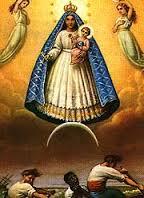Una de las muchas imágenes de la Virgen de la Caridad