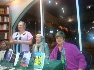 Nancy Alonso, Sara E. Cooper, Mirta Yañez y Uva de Aragón, Noviembre 2014