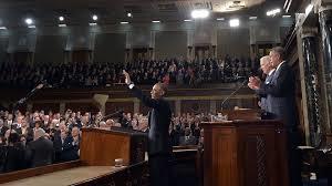 El Presidente Obama durante el discurso del Estado de la Nación, Washington, D.C. 2015