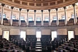 Hemiciclo de la Cámara de Representes en el Capitolo durante tuvieron lugar las sesiones de la Asamblea Constituyente de 1940