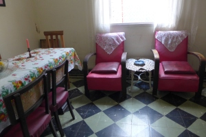 Butacas donde Mama Luya y Lauri se sientan