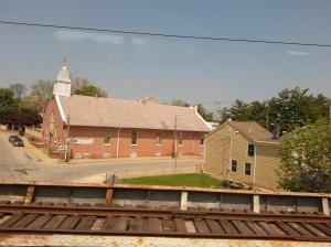 En cada pueblo observé una iglesia