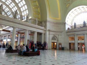 Union Station en Washington, D.C. me trajo muchos recuerdos