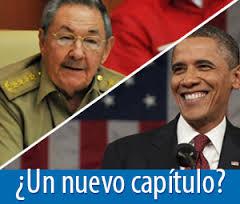 Obama y Raul Casstro