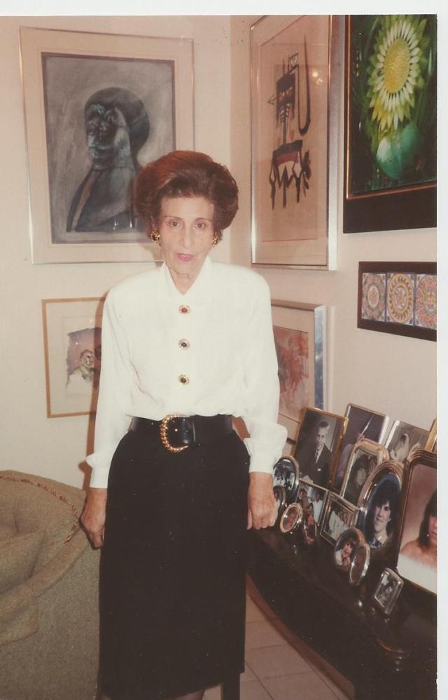 Doña Uva. Miami. circa 1991