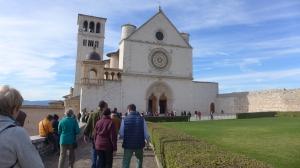 La Basílica de San Francisco de Assisi, donde descansan sus restos