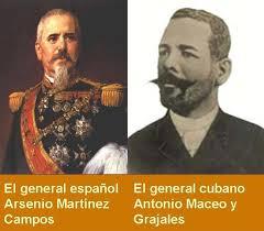 El general español y el cubano se entrevistaron al menos dos veces durante la Guerra del 68