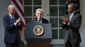 El Juez Garland agradece emocionado la nominación del Presidente Obama en los jardines de la Casa Blanca