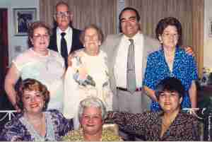 At a family reunion at my home circa 1990. All in the picture but myself are now deceased.
