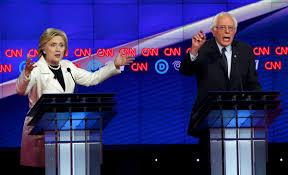 El reciente debate entre Hillary Clinton y Bernie Sanders no fue nada amistoso