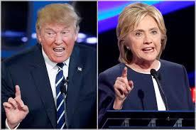 Posiblemente Hillary y Trump sean los candidatos y se enfrenten en varios debates