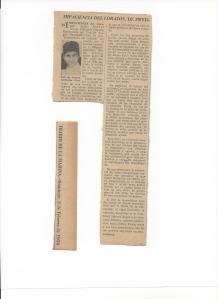 Mi primer artículo publicado en El Diario de La Marina