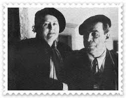 Don Romulo Gallegos y Teotiste Arocha de Gallegos