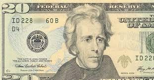 La imagen de Andrew Jackson aparece en los billetes de $20