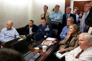Tensos momentos durante la captura de Osama Bin  Laden