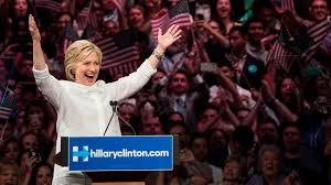 Hillary acepta la nominación del Partido Demócrata como candidate a la Presidencia de Estados Unidos